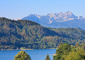 Lake Worthersee. Austria — Stockfoto