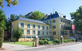Administration Building. Resort Portschach am Worthersee. Austri — Stock Photo