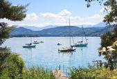 Lake Worth (Worthersee). Austria — Stock Photo