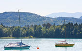 Lake Worth (Worthersee). Austria — Stock Photo