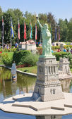 "Statue of Liberty.Klagenfurt.  Park ""Minimundus"". Austria — Stock Photo"