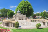 "St. Peter's Basilica, Vatican City.Klagenfurt. Miniature Park ""M — Stock Photo"