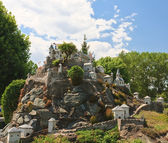 "Hochosterwitz Castle, Austria.Klagenfurt. Miniature Park ""Minimu — Stock Photo"