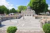 "St. Peter's Basilica, Vatican City.Klagenfurt. Miniature Park ""M — Stock Photo"