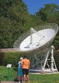 Effelsbergsky radio telescope. Germany.Klagenfurt. Miniature Par — Foto Stock