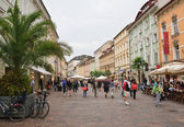 Old Square. Carinthia. Klagenfurt. Austria — Stock Photo