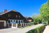 Hotel.resort pörtschach am wörthersee. austria — Foto de Stock
