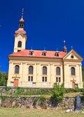 Kościół parafialny w pörtschach am wörthersee austria — Zdjęcie stockowe