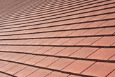 Tile roof. Background. Shallow depth of field  — Stock Photo