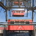 Ferris wheel in the Prater amusement park. Vienna. Austria — Stock Photo #49027031
