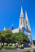 Votive Temple (Votive Churchis) in Vienna, Austria — Stock Photo