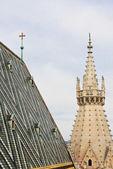 Vienna, St. Stephen's Cathedral. Austria — Stock Photo