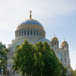 St. Nicholas Naval Cathedral, located at Yakornaya Square, Kron — Stock Photo #8418929