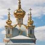 Church of the Grand Palace. Peterhof. Russia — Stock Photo #9518855