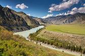Katun river — Stock Photo
