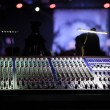 Stock Photo: Mixing console.