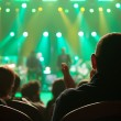 Audience applauded at the concert artists. — ストック写真 #33143515