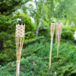 Decoration tiki oil torches. — Stock Photo #35348617