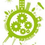 Green Planet — Stock Vector #2006461