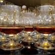 Glasses of brandy at the banquet - Lizenzfreies Foto