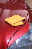 Drying car — Stock Photo