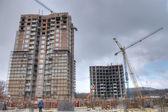 New building, construction — Stock Photo