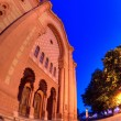 Night of the old synagogue of Uzhgorod, Ukraine - ストック写真