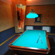 Billiards room — Stock Photo
