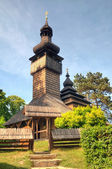 Old wooden church, Uzhgorod, Ukraine — Stock Photo