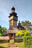 Velho de madeira igreja, uzhgorod, Ucrânia — Fotografia Stock
