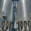 Grain Elevators - Stock Photo