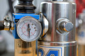 Manometer close up — Stock Photo