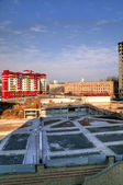 New building, construction — Стоковое фото