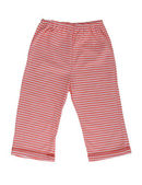 Children's striped pants — 图库照片
