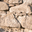Surface of the stone wall - Stock Photo