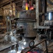 Stock Photo: Space in the steel plant