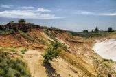 Sand quarry — Stock Photo