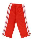 Children's striped pants — Foto de Stock