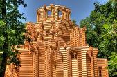 Construcción de la iglesia ortodoxa — Foto de Stock