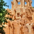 Construction of the Orthodox Church — Stock Photo