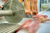 Domuz eti gıda sanayii — Stok fotoğraf