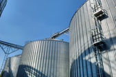 Grain Elevators — Stock Photo