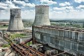 электростанции — Стоковое фото