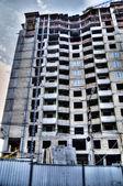 Ny byggnad, konstruktion — Stockfoto