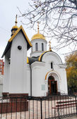 Schöne orthodoxe kirche — Stockfoto