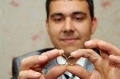 Wedding rings — Foto de Stock