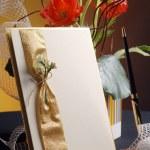 Art greeting card — Stock Photo