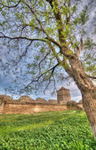 Old fortress in town Bilhorod-Dnistrovski — Stock Photo