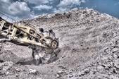 Clay mining — Stock Photo