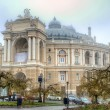 Old Opera Theatre Building in Odessa Ukraine night — Stock Photo